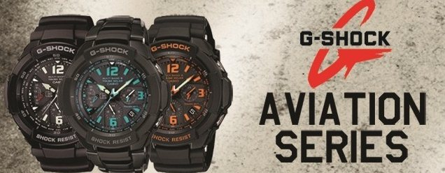 G-Shock Aviation Series