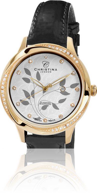 Женские часы CHRISTINA 305GWBL-wave 27S Распродажа! - купить по цене 5976 в грн в Киеве, Днепре, отзывы в интернет-магазине Timeshop