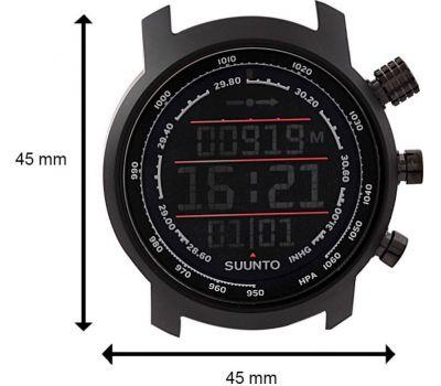 Suunto SS019171000 ELEMENTUM TERRA N/BLACK/RED LEATHER - фото 7 | Интернет-магазин оригинальных часов и аксессуаров