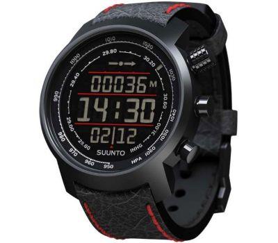 Suunto SS019171000 ELEMENTUM TERRA N/BLACK/RED LEATHER - фото 6 | Интернет-магазин оригинальных часов и аксессуаров