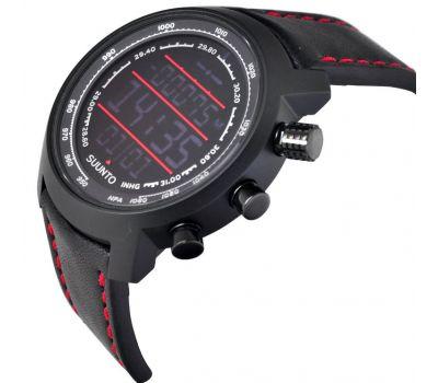 Suunto SS019171000 ELEMENTUM TERRA N/BLACK/RED LEATHER - фото 5 | Интернет-магазин оригинальных часов и аксессуаров