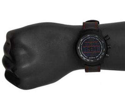 Suunto SS019171000 ELEMENTUM TERRA N/BLACK/RED LEATHER - фото 2 | Интернет-магазин оригинальных часов и аксессуаров