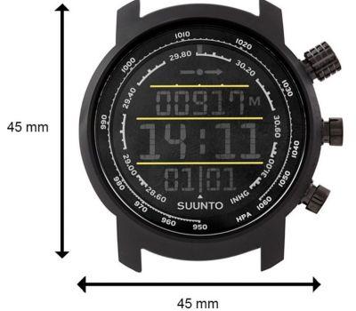 Suunto SS019997000 ELEMENTUM TERRA N/BLACK/YELLOW LEATHER - фото 6   Интернет-магазин оригинальных часов и аксессуаров