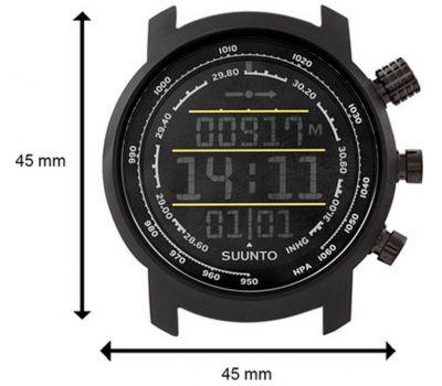 Suunto SS019997000 ELEMENTUM TERRA N/BLACK/YELLOW LEATHER - фото 2   Интернет-магазин оригинальных часов и аксессуаров