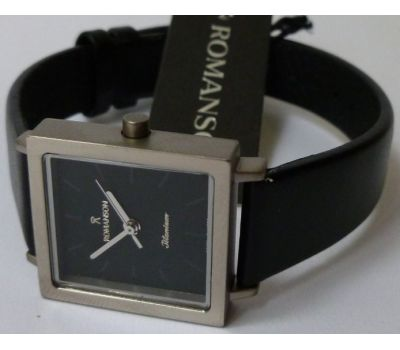 ROMANSON DL2133LL1WA32W-BL( DL2133SLWH BLACK) Супер цена! - фото 3 | Интернет-магазин оригинальных часов и аксессуаров