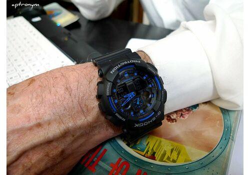CASIO GA-100-1A2ER - фото 8   Интернет-магазин оригинальных часов и аксессуаров