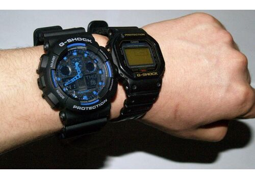 CASIO GA-100-1A2ER - фото 9   Интернет-магазин оригинальных часов и аксессуаров