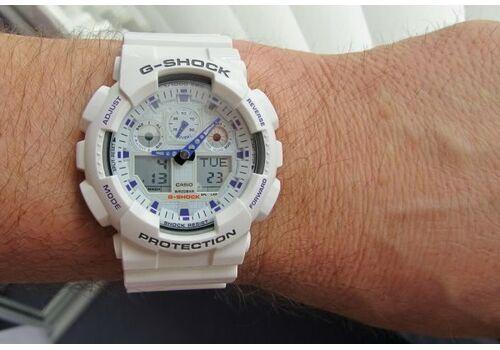 CASIO GA-100A-7AER - фото 9 | Интернет-магазин оригинальных часов и аксессуаров