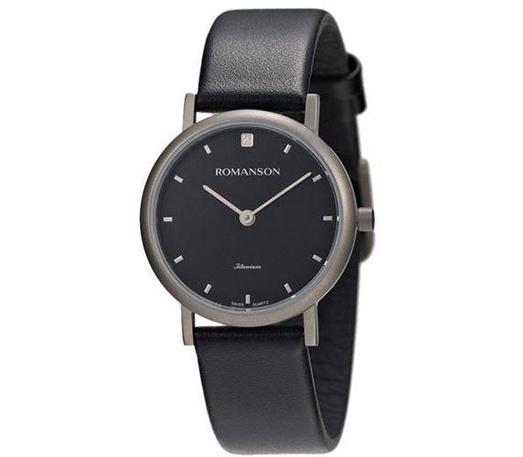 890a4fdfd1ce Женские часы ROMANSON UL0576LL2WA32W (UL0576SLWH BLACK  UL0576LWH BK ...