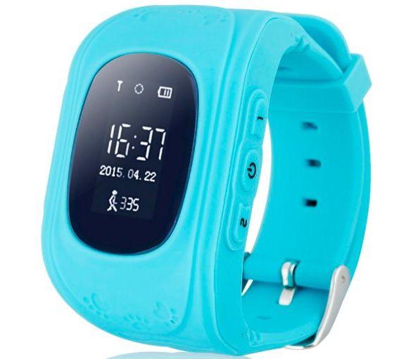 Детские Детские умные часы Q50 W5 GPS Blue - купить по цене 720 в ... 79f28a49f2978
