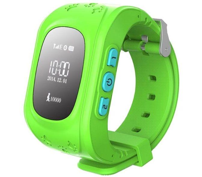 Детские Детские умные часы Q50 W5 GPS Green - купить по цене 720 в ... f337fbc7c3166