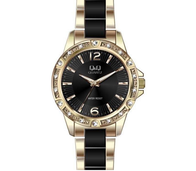 08a0d980b6f5 Женские часы Q Q F533J002 (F533-002, F533-002Y, F533J002Y ...